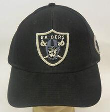 NFL Oakland Raiders Reebok Adult EST. 60 Cap Hat Adjustable Back Closure NEW!