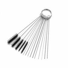 Carburetor Carb Cleaning Kit - 5 Nylon Brushes/10 SS Needles