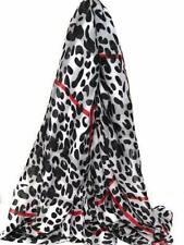 Women Leopard Print Scarf Shawl Pashmina Stole Blanket Wrap Exotic Animal