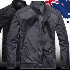 Men's Winter Autumn Coat Jacket Parka Overcoat Man Tops Grey Black CTSHI47