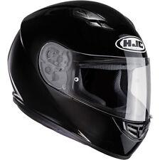 HJC CS-15 Plain Full Face Motorcycle Motorbike Helmet - Gloss Black