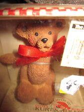 HOLLY BEARIES vtg Christmas ornament NEW Kurt S. Adler teddy-bear