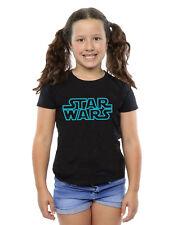 Star Wars Bambine e ragazze Neon Sign Logo Maglietta