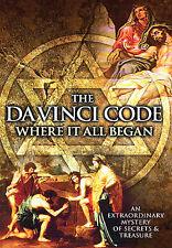NEW DVD The Da Vinci Code: Where It All Began~,