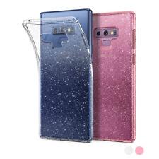Galaxy Note 9 Case | Spigen® [Liquid Crystal Glitter] Clear TPU Protective Cover