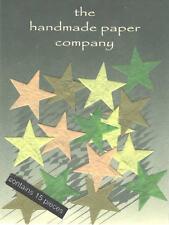 75 x Die Cut Mini Stars forme/Mulberry Paper/artigianato/Cardmaking/Decoupage/ARTE