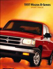 1997 Mazda Truck B2300 B4000 16-page Original Dealer Sales Brochure Catalog