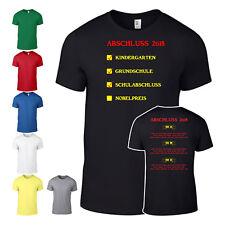 Abschluß Shirt Abschlussshirt T-Shirt Abi Schule mit allen Namen Penne UNI 004