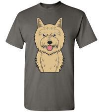 Cairn Terrier Cartoon T-Shirt Tee - Men Women Youth Tank Long Sleeve bull dog