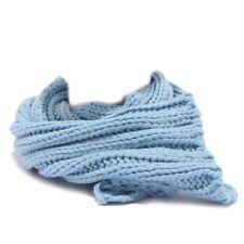 4956T sciarpa bimba REGINA BY ANGELA MAFFEI lana azzurro scarf kid