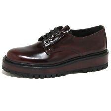 1813O scarpa allacciata CAR SHOE bordeaux scarpe donna shoes women