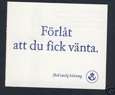 Sweden Booklet - Cats - Scott 2222a