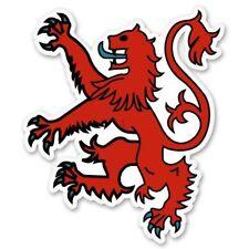 Scottish Lion Rampant Car Vinyl Sticker - SELECT SIZE