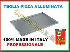 TEGLIA FORMA PIZZA RETTANGOLARE ALLUMINATA PROFESSIONALE FORNO PIZZERIA