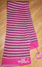 Nolita Pocket baby girl pink stripe scarf wool BNWT designer 1-2 y 12-18-24 m