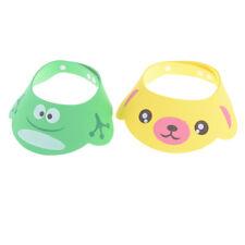 1x Adjustable Baby Kids Cartoon Shampoo Bathing Shower Cap Hat For Baby Care Pop