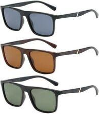 Polarized Square Sunglasses Classic Vintage Retro Driving Mens Women'S