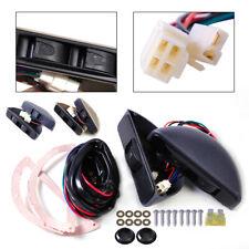 2 Universal Door Power Window Lock 3 Rocker Switch Kit 12V for Car Front Doors