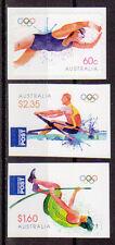 Australie Jeux Olympiques 2012 Londres 2012 ensemble de trois self / AD. um, neuf sans charnière