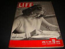 Life Magazine , April 22,1946 , Denver School Girl
