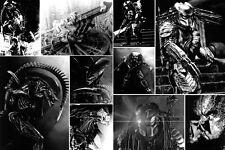 Superba Alieni V Predatore #1 SCI-FI collage tela di qualità foto su tela GRATIS P&P