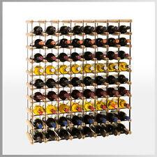 Weinregal für 8 bis 72*Flaschen Flaschenregal Flaschenständer METALL Holz RW-8-8