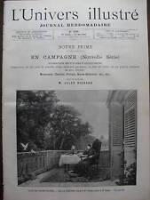 L'UNIVERS ILL 1890 N 1836  AU SALON DES CHAMPS ELYSEES