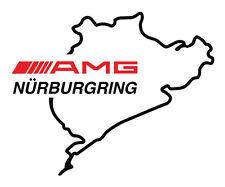 "2x AMG Nurburgring Decals Sticker vinyl logo Mercedez Benz 6""car sport racing"