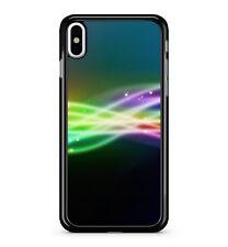 Luces multicolores rayas de Neón Colores Mezclados espacio 2D Funda Protectora De Teléfono