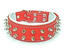 BESTIA hand made dog collar, medium or small, spiked studded, french bulldog