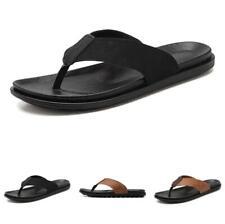 Men Outdoor Walking Sports Non-slip Summer Beach Thong Clip Toe Slippers Shoes B