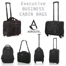 Aerolite Cabina Portátil Empresarial Ejecutivo Oficina Móvil 2 y 4 ruedas equipaje de mano