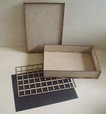 Magnetic 1/2 Storage case 70mm for warhammer 40k wargames games workshop carry