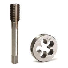 2 X Round Left Hand Tap Die LH Fine Thread Tap Dies M8 M10 Tool Kit Parts