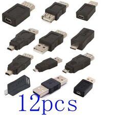 a lot  OTG USB2.0 male to female micro USB mini changer adapter converter data