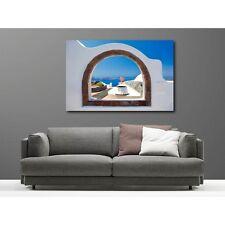 Tableaux toile déco rectangle balcon  13894829