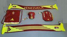 Venezuela FVF Vinotinto AUTHENTIC ADIDAS BRACELET HAT SCARF COPA AMERICA NEW