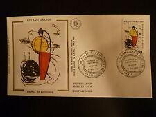 FRANCE PREMIER JOUR FDC YVERT 2699  TENNIS ROLLAND GARROS  3,50F PARIS 1991