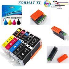 Cartouches pour  CANON PGI-580 CLI-581 XXL PIXMA TS8240 TS8241 TS8242 TS8150 XXL