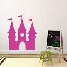 Princess Castle Wall Decal - Kids, Nursery, Princess, Fairy Tale, Wall Sticker