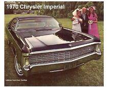 1970 Chrysler Imperial  Auto Refrigerator Magnet