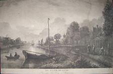 1750-PAYS-BAS-ROTTERDAM-LA HAYE-VAN DEER NER-RARE VIEW
