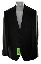 Salvatore Exte Men's 2 Buttons Blazer Jacket Sports Coat, Black, 46R EU/ 36R US