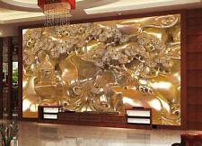 3D  Kunst Skulptur 5966 Fototapeten Wandbild Fototapete BildTapete Familie DE