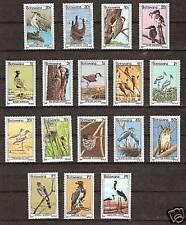 BOTSWANA # 198-214 MNH Birds Ducks Eagles Storks