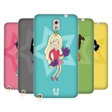 Head CASE DESIGNS féminin TEEN personnalités soft gel case pour téléphones Samsung 2