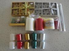 Wedding/Christmas candles - pillar/taper/votive