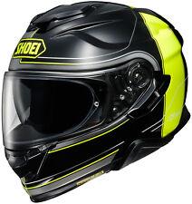 New Black/Neon/Grey Shoei GT-Air II Crossbar Helmet All Sizes