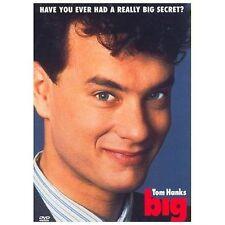 BIG DVD NEW! TOM HANKS, PENNY MARSHALL, FAMILY COMEDY, FUNNY