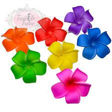 Petit PLUMERIA Frangipanier Clips Cheveux Fleur. Festival de couleurs claires Hawaïen